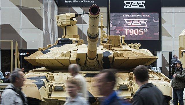 Танк Т-90МС. Архивное фото.