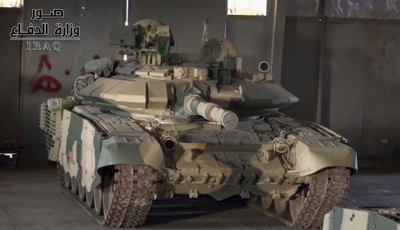 Танк Т-90С в составе 35-й бригады 9-й бронетанковой дивизии иракской армии, 05.06.2018.