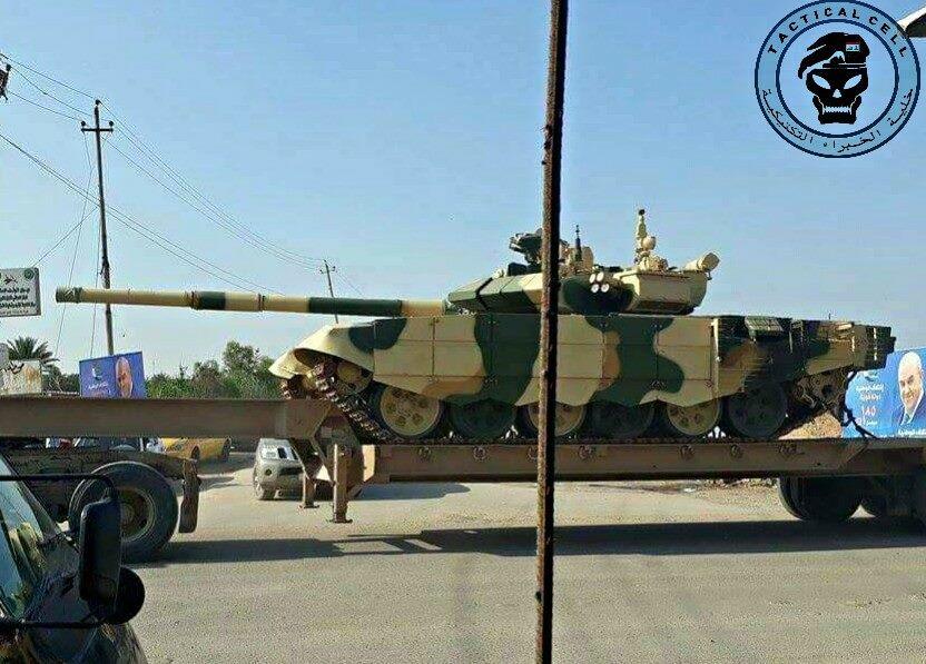 Танк Т-90СИ ВС Ирака.