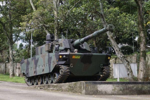 Танк Tiger на испытаниях.