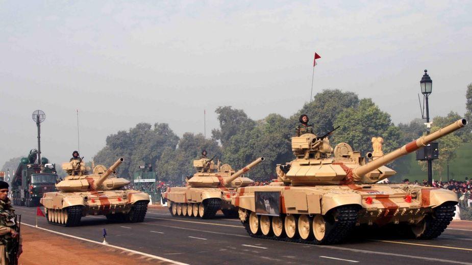 """Танки """"Бхишма"""" индийской армии."""