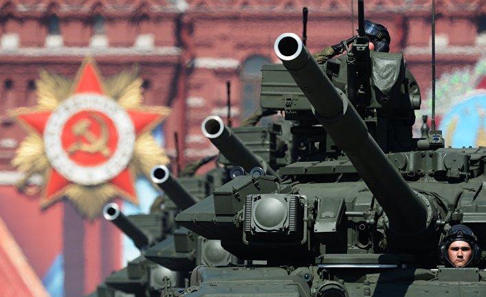 Танки Т-90А.