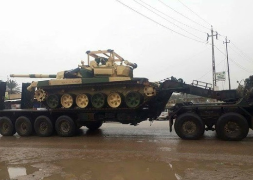 Танки Т-90СИ ВС Ирака.