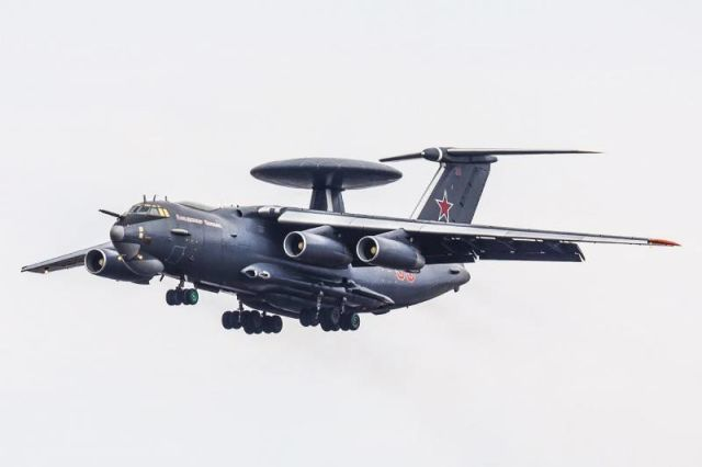 Самолет ДРЛОиУ А-50У