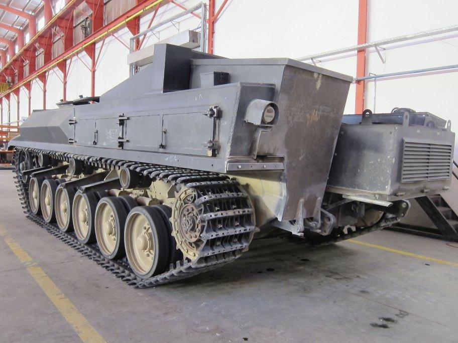 БМП на базе основных боевых танков Tariq (Centurion) ВС Иордании.