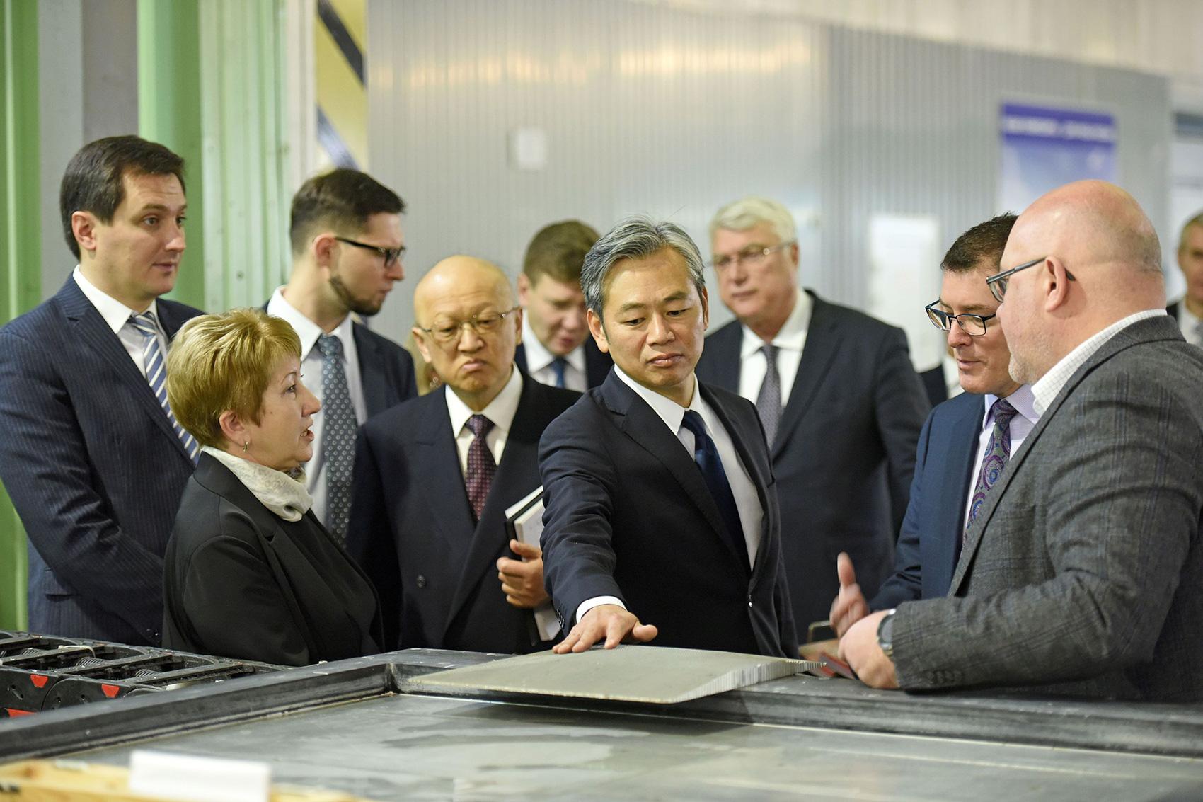 Делегация Setouchi Holdings Inc (Япония) на ОНПП «Технология».