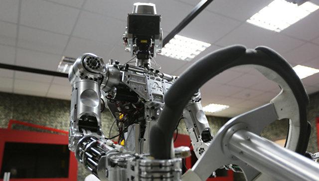 Технологическая платформа для создания человекоподобного робота. Архивное фото.