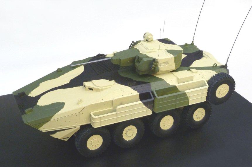 Модель бронетранспортера STK Terrex 3, демонстрировавшаяся в экспозиции выставки Eurosatory 2016.