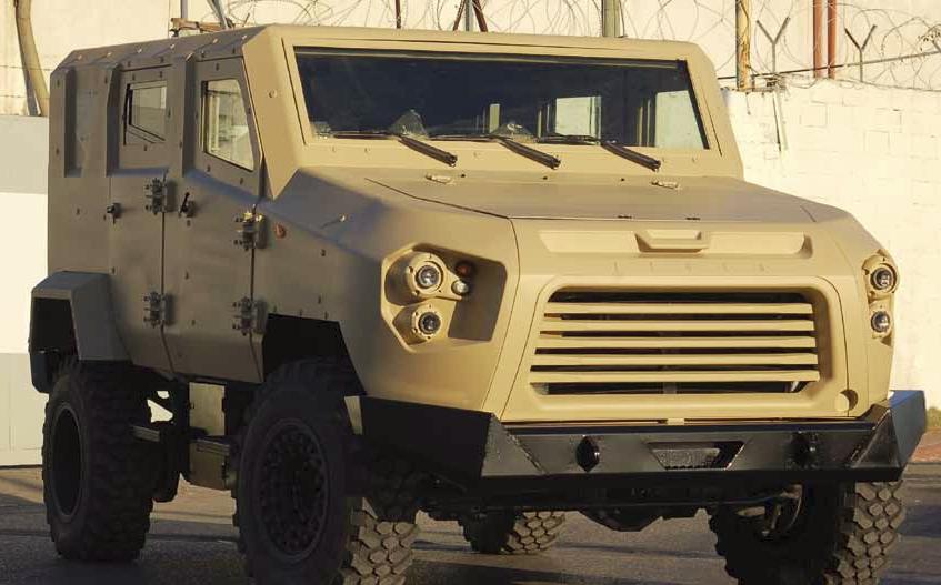 Легкобронированная машина Tiger компании Textron.