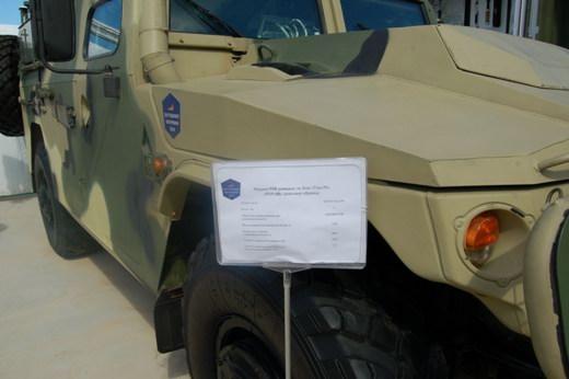 """Российский боевой внедорожник """"Тигр"""" в варианте """"Разруха-1""""."""