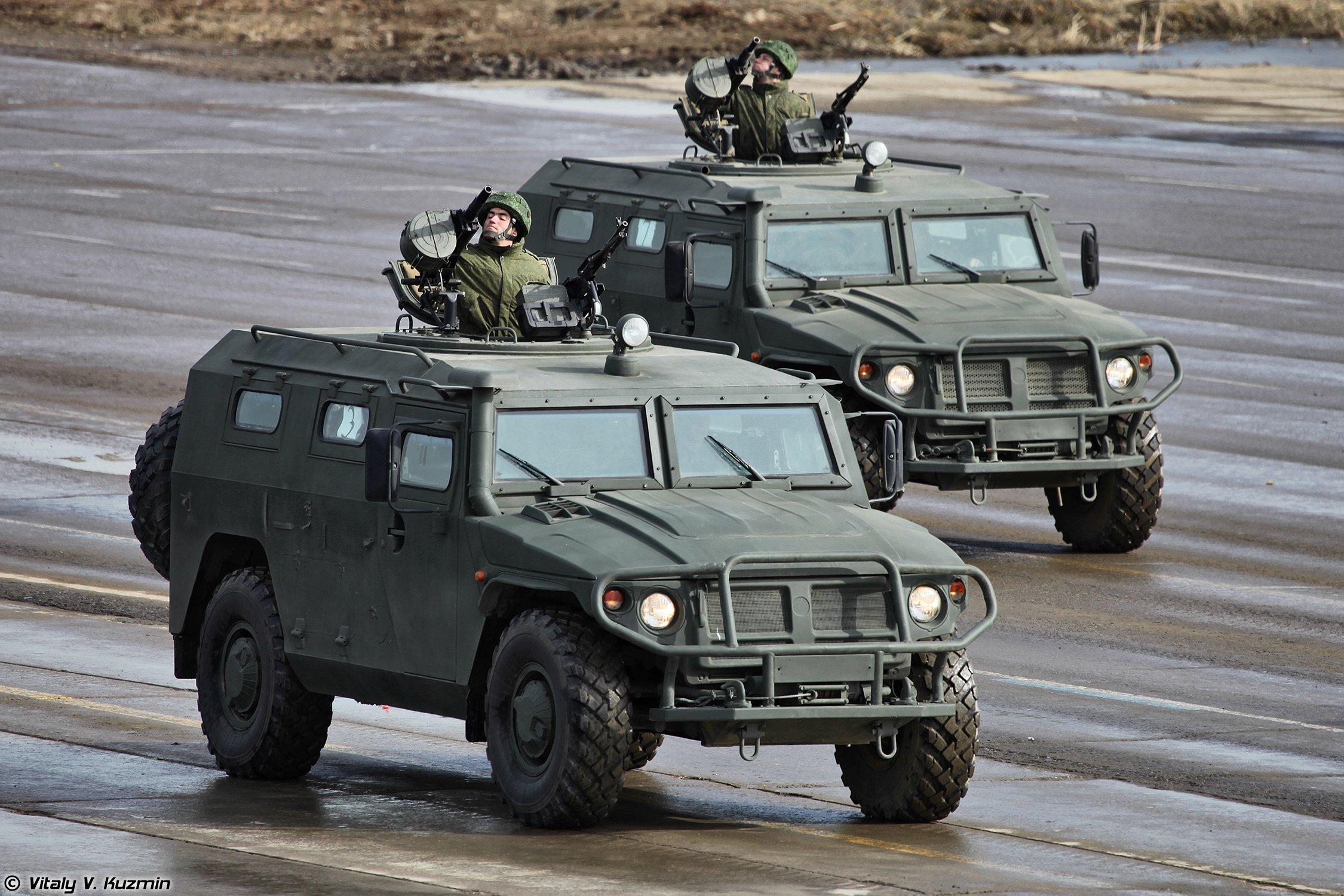 """Бронеавтомобили ГАЗ-233014 """"Тигр"""""""