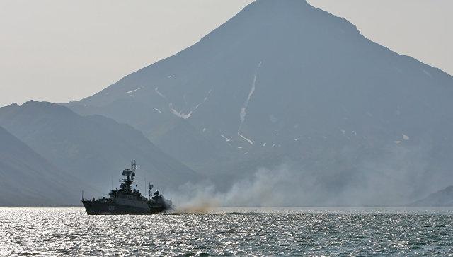 Тихоокеанский флот. Архивное фото.
