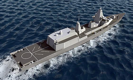 Перспективный корабль класса «Тип-26».  Источник: www.armstrade.org.