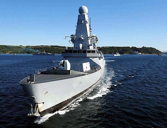 Эсминец «Данкан» проекта «Тип-45». Фото: ship.bsu.by.