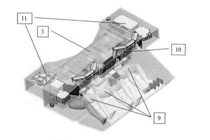 Схема бронированной капсулы танка «Тирекс»