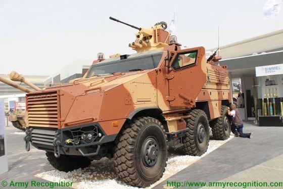 Многоцелевой бронеавтомобиль TITUS