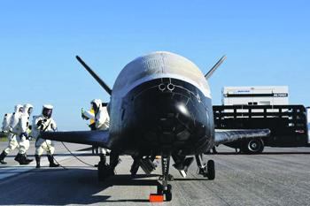 Только шестой полет Boeing X-37B приоткрыл завесу тайны его предназначения. Фото с сайта www.defense.gov