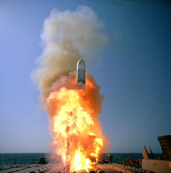 Испытания крылатой ракеты Tomahawk Block IV,.