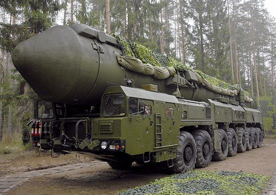 Подвижный грунтовый ракетный комплекс «Ярс»<br>Фото с сайта http://www.function.mil.ru/