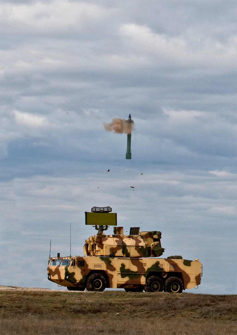 Стрельбы ЗРК «Тор-М2К»