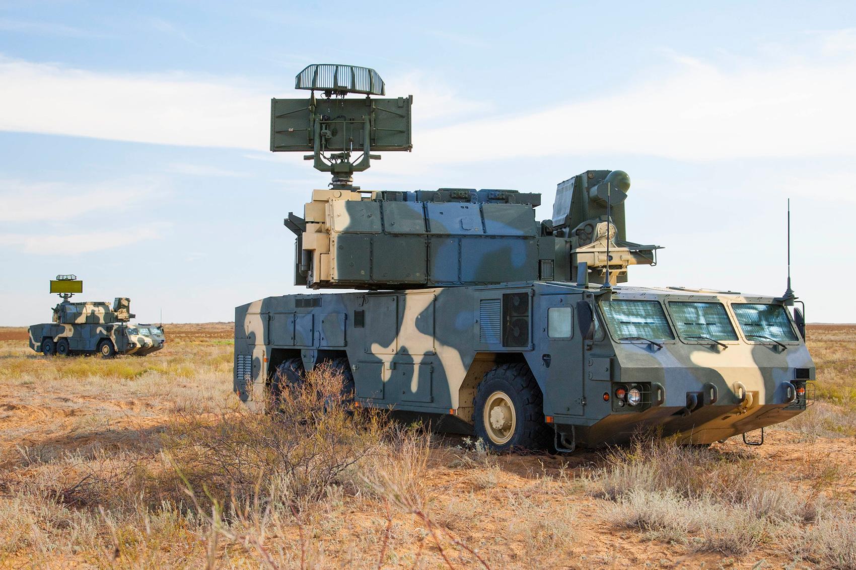 Автономный боевой модуль ЗРК «Тор-М2КМ»