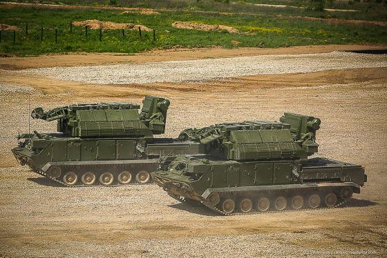 Боевые машины 9А331МУ