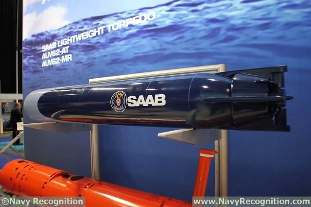 Шведская торпеда от Saab.