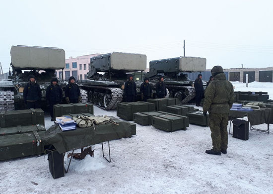 """ТОС-1А """"Солнцепек"""""""