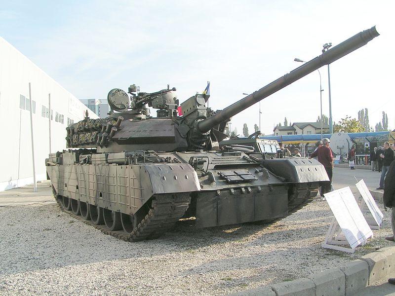 Румынский танк TR-85M1.