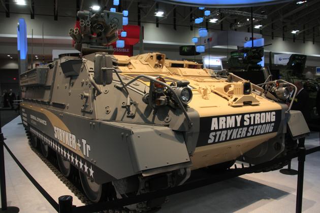 БМП Stryker-Tr от компании General Dynamics.