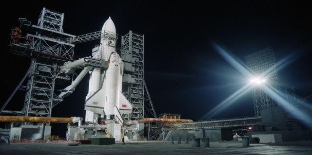 """Транспортная система """"Энергия"""" с орбитальным кораблем многоразового использования """"Буран"""", 1988 год"""