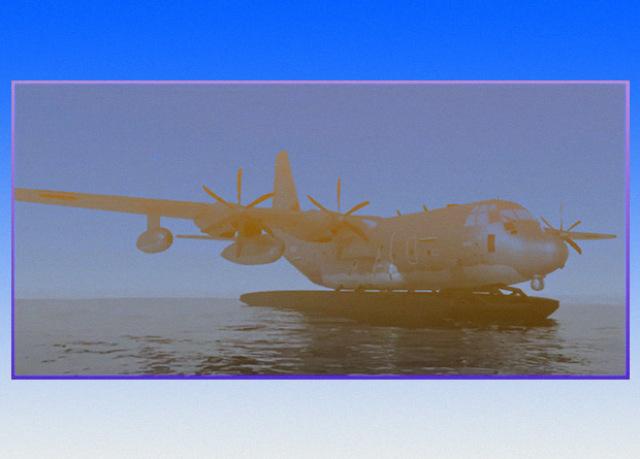 Транспортник C-130J станет гидросамолетом