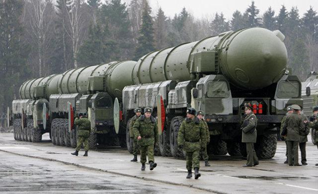 Транспортно-пусковая установка межконтинентальных баллистических ракет «Тополь-М»