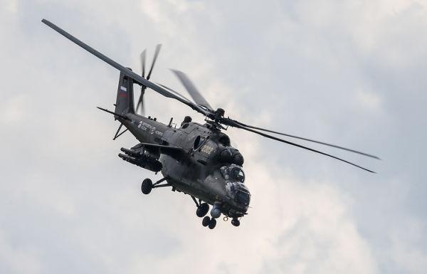 Транспортно-боевой вертолет Ми-35