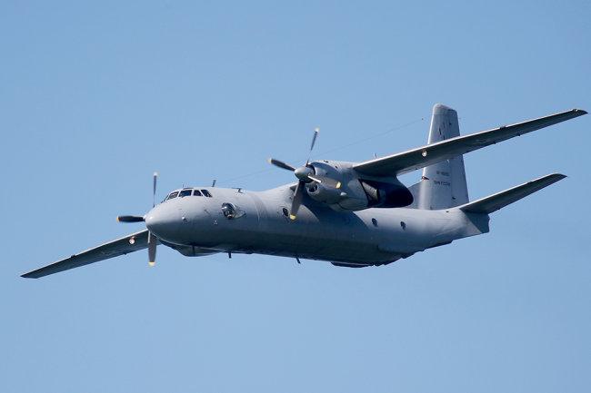 Транспортный самолет Ан-26.