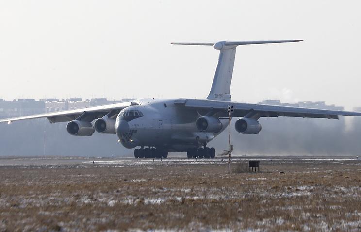 Транспортный самолет Ил-76.