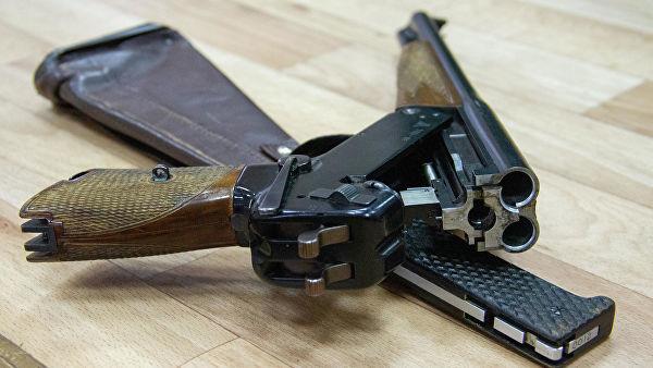Трехствольный пистолет ТП-82