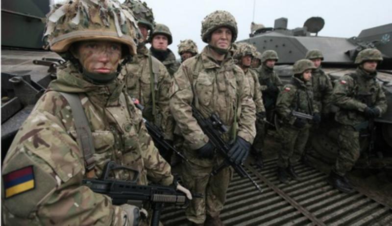 Военные учения стран НАТО Trident Juncture 2015.