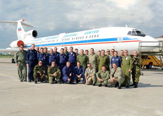 Самолет Ту-154М Лк-1