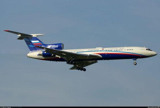 Самолет Ту-154М-Лк-1