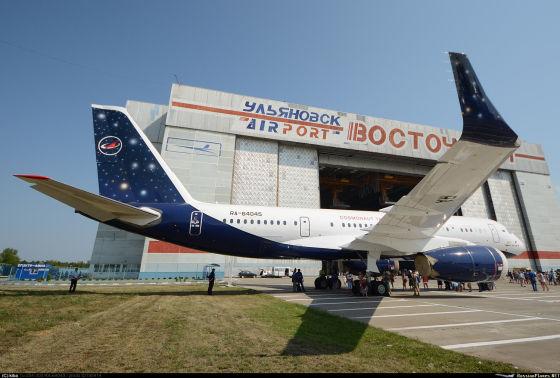 Самолет Ту-204-300