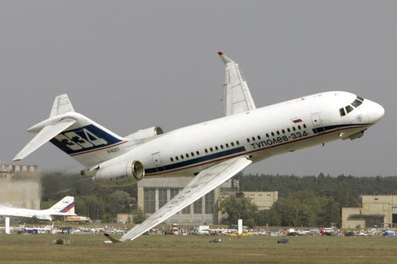 Самолет Ту-334