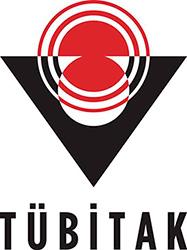 Логотип Turkiye Bilimsel ve Teknolojik Arastirma Kurumu - TUBITAK (Совет по научно-техническим исследованиям Турции).