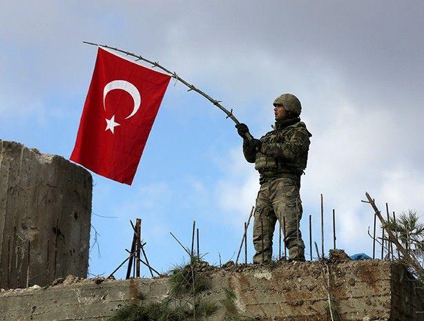 Военнослужащий ВС Турции