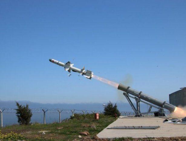 "Противокорабельная ракета ""Атмака"""