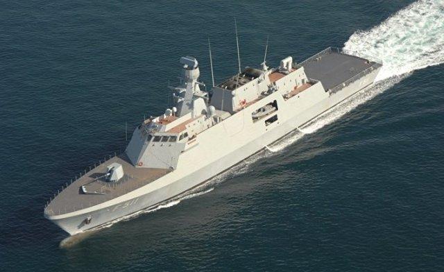 Турецкий корвет класса Ada TCG Heybeliada (F-511)