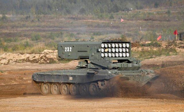 """Тяжелая огнеметная система ТОС-1А """"Солнцепёк"""""""