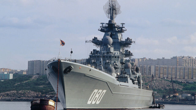 """Тяжёлый атомный ракетный крейсер """"Адмирал Нахимов"""""""