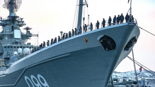 Тяжёлый атомный ракетный крейсер Северного флота РФ «Петр Великий»