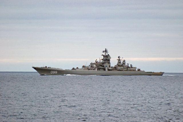 """Тяжелый атомный ракетный крейсер """"Петр Великий"""""""